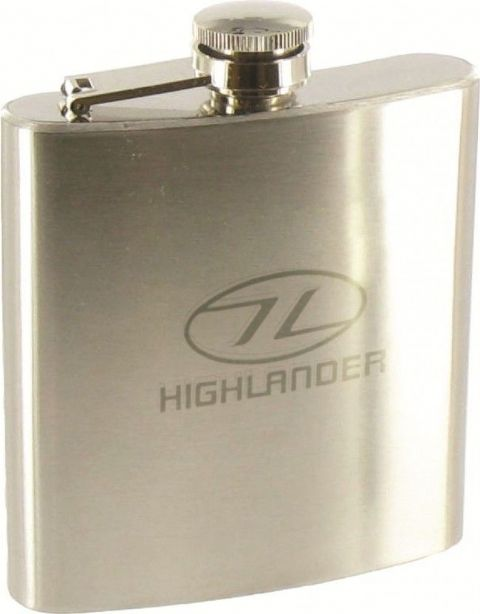 Highlander Steel Hip Flask 170ml